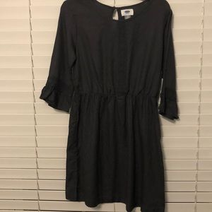 Girls dark gray, short dress